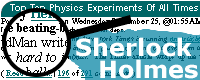Logo of Sherlock Holmes